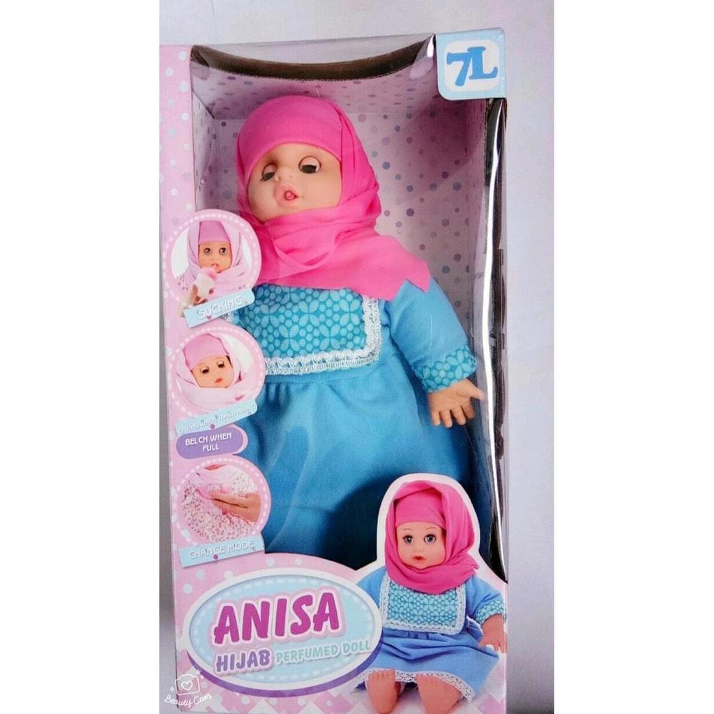 Boneka Teman Bermain dan Belajar Anisa Hijab dengan mode pintar ... a2ebc4b753