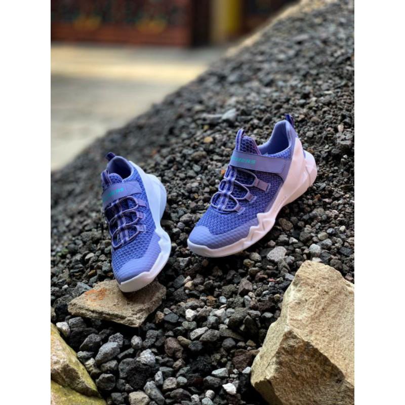 SKECHERS DLT-A STREET SOUNDS 80643 LT BLUE (WOMEN)