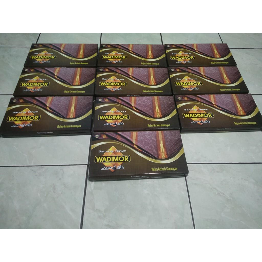 Grosir Sarung Wadimor Kombinasi Marocco Shopee Indonesia Tenun Motif