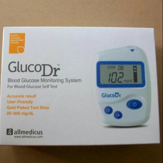 Alat tes gula darah akurat