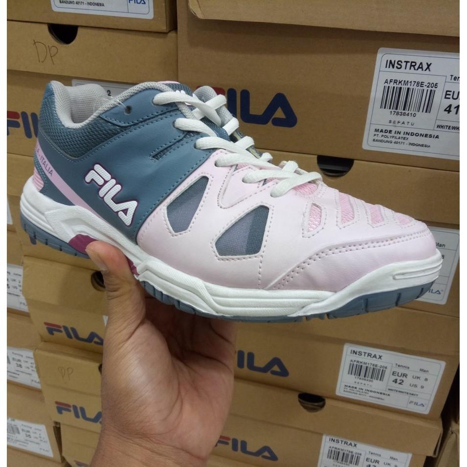 Fila Sepatu Tenis Olahraga Paddle- White White Mint  5906a674c7