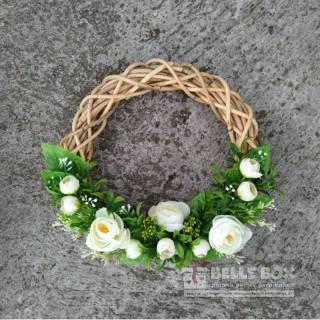 bunga rotan/ bunga lingkar/ bunga hias/ wreath flower