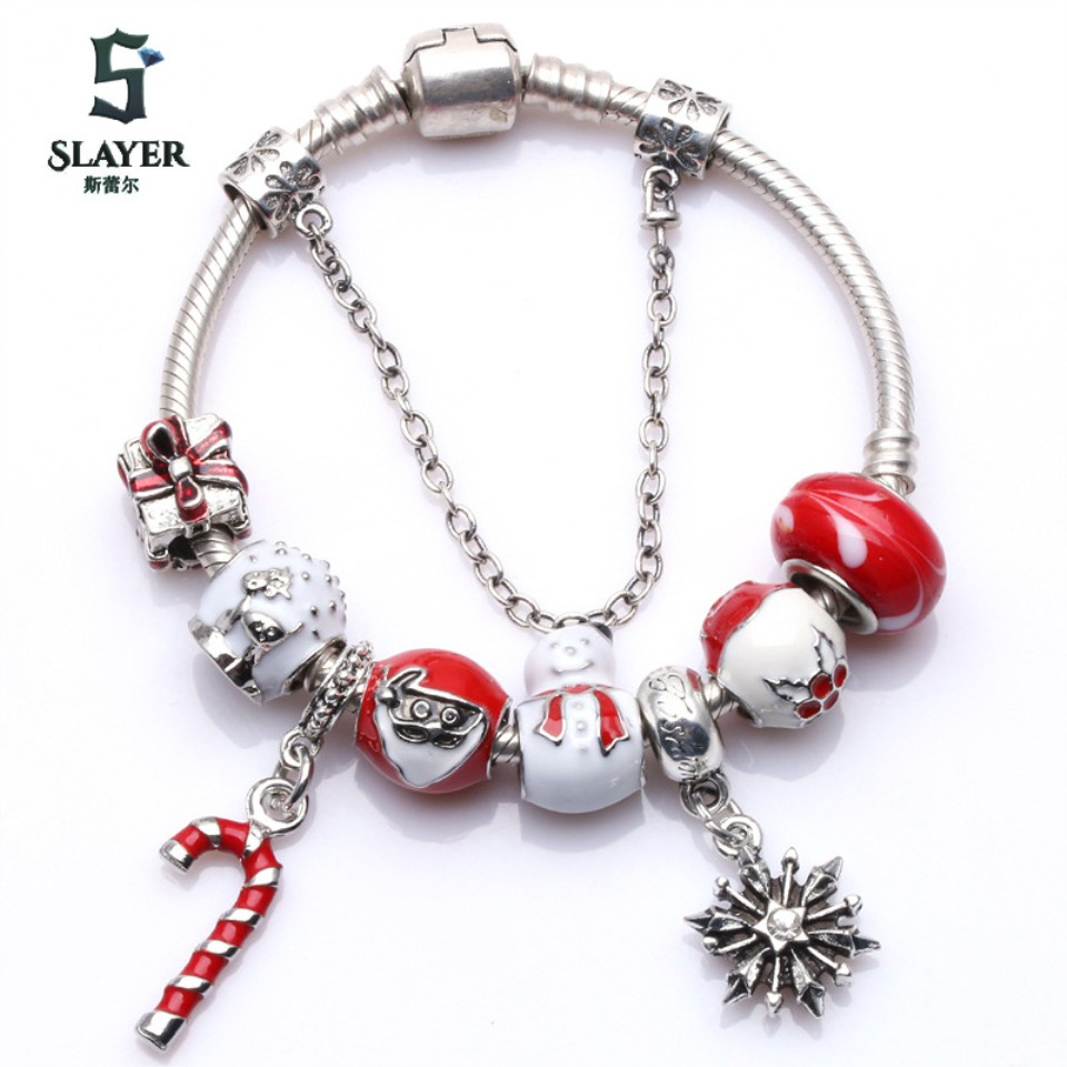 Christmas Style 2 Street Fashion Accessories Girl Bracelet Charm Trend Style2accessories Streetjewel Shopee Indonesia