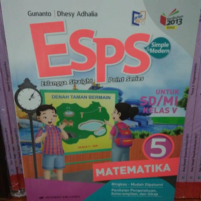 Download Buku Esps Matematika Kelas 5 Pdf Guru Galeri