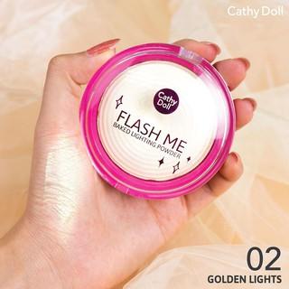 Cathy Doll Flash Me Baked Lighting Powder No 02 Golden Light 3