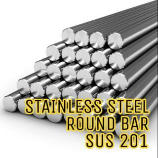 """1/"""" 304 Stainless Steel Round Bar x 48/"""" Long"""