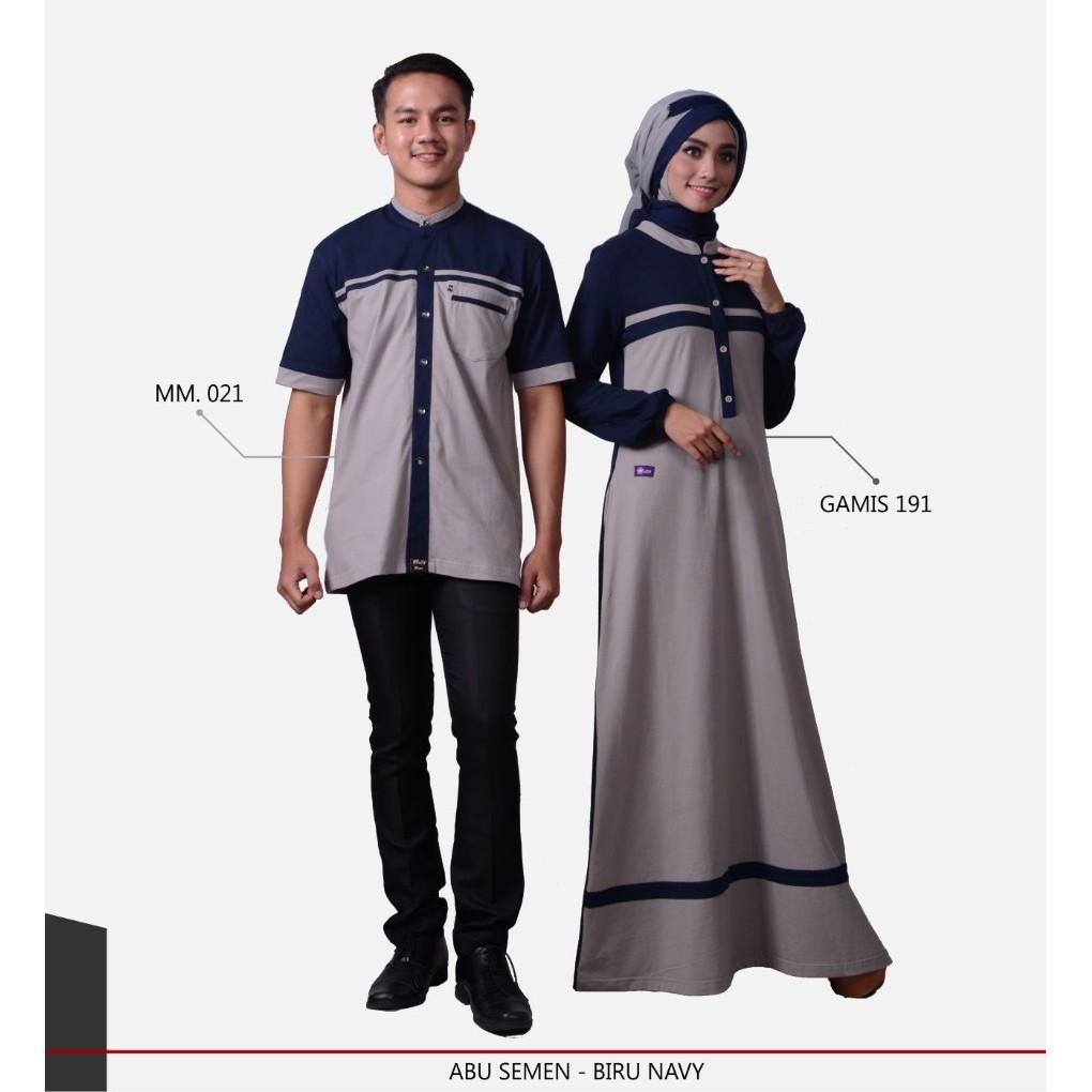 Baju Keluarga Nibras Sarimbit 34 Dongker Couple Family Baju Couple Keluarga | Shopee Indonesia