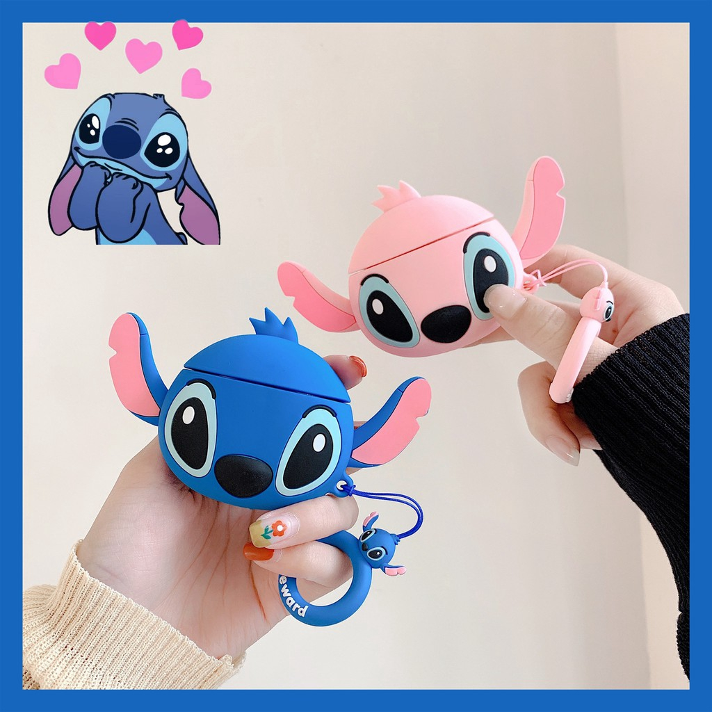 Soft Case Silica Gel Motif Kartun Stitch Lucu Imut Multi Warna Untuk Apple IPhone X