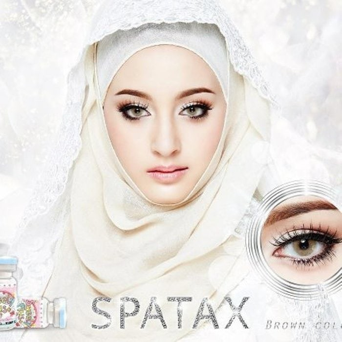 Spatax Paket Softlens Brown - Free softlen case & Cairan Soflen 60ml | Shopee Indonesia