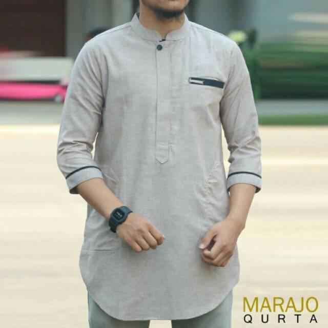 HADDEK-Baju Koko Katun Seragam Hadroh Marawis Rebana Simtudduror Jamaah  Yasin Tahlil Terbaru Keren  be34d8054f