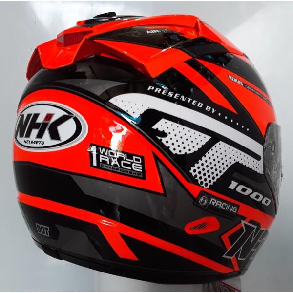 Helm Nhk Gp1000 Stars Race Bekas Shopee Indonesia