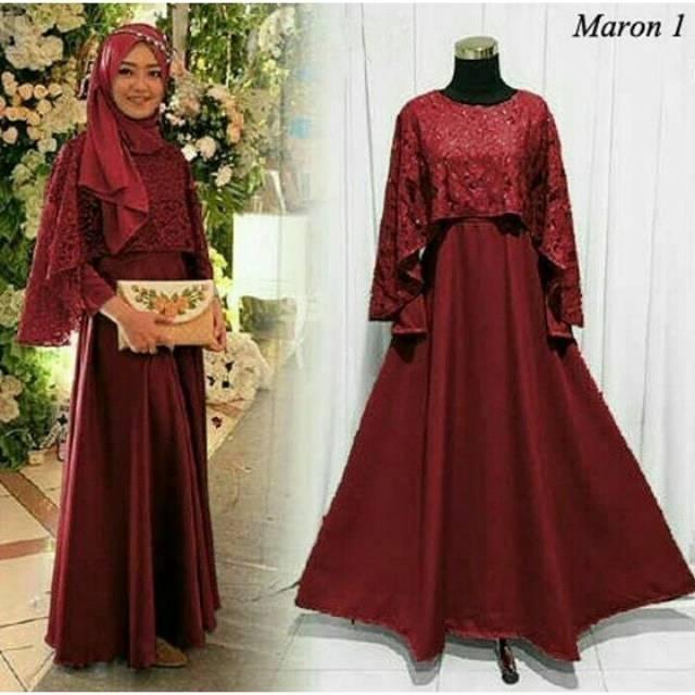 Belanja Online Dress Muslim - Fashion Muslim  a7f4702d7c