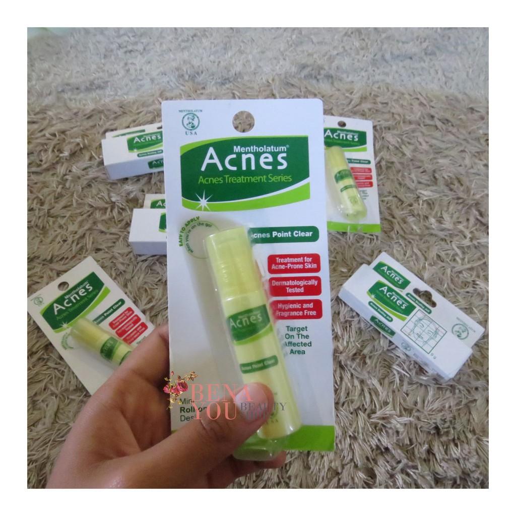 Acnes Point Clear Spot Care Obat Jerawat Treatment Series Mentholatum Roll On Stick Anti Shopee Indonesia