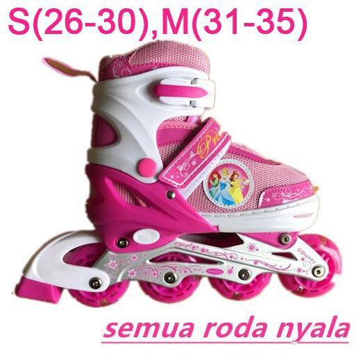 Sepatu Roda Fullset Komplit Dekker Pelindung + Helm   Inline Skate Anak  Roda Bajaj  8deab43846