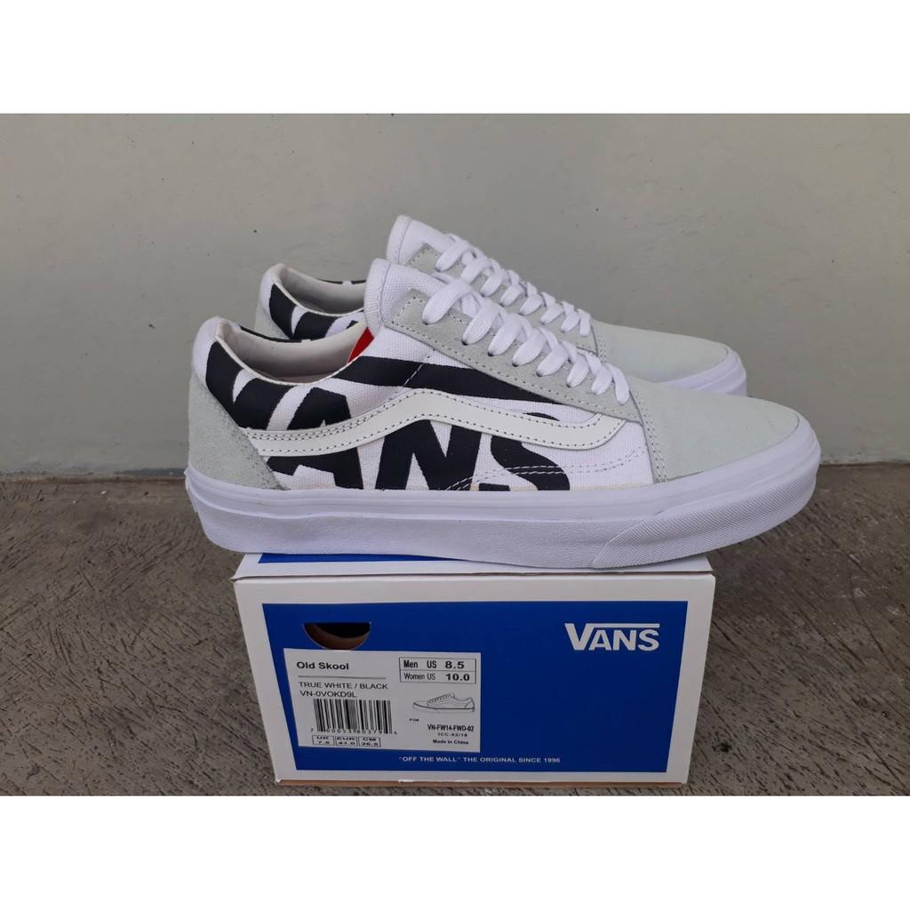 sepatu pria sneakers skate vans era 95 fog marsmellow white black print waffle  icc premium bnib  ad6397542