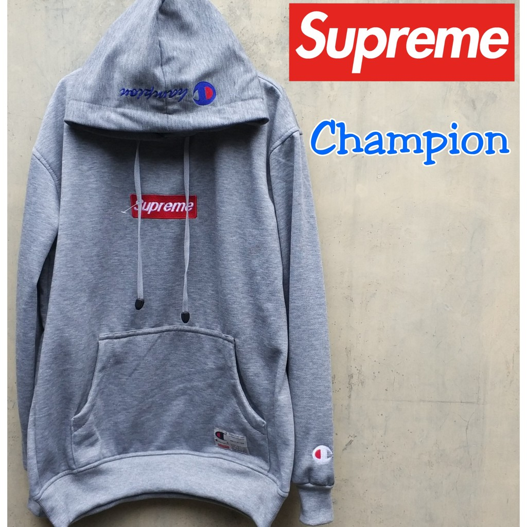 Terlaris !!! Jaket Supreme hoodie jumper sweater premium kekinian ... 977be130ef