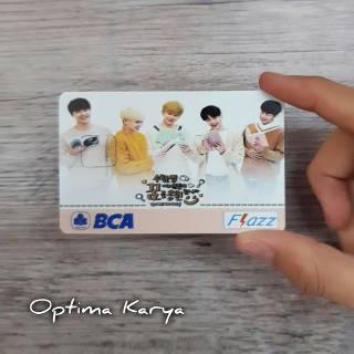 Custom kartu emoney / e toll - FLAZZ BCA - BRIZZI BRI ...