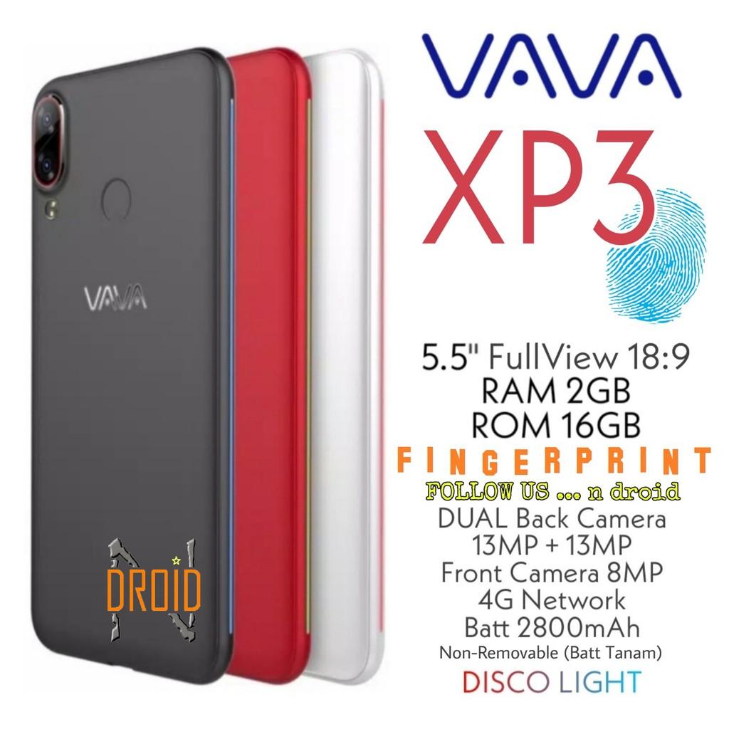 [FINGERPRINT] VAVA XP3 4G - RAM 2GB ROM 16GB - SMARTPHONE - HP VAVA XP3 - HP ANDROID MURAH
