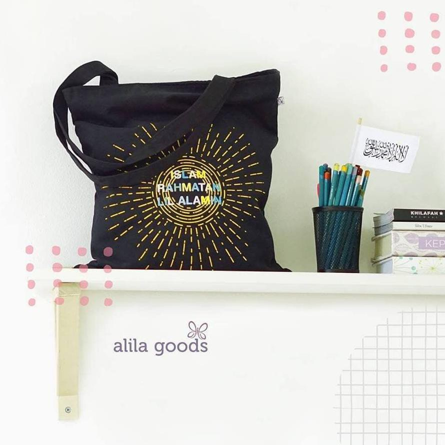 Totebag By Hijab Alila Goods Qualitas