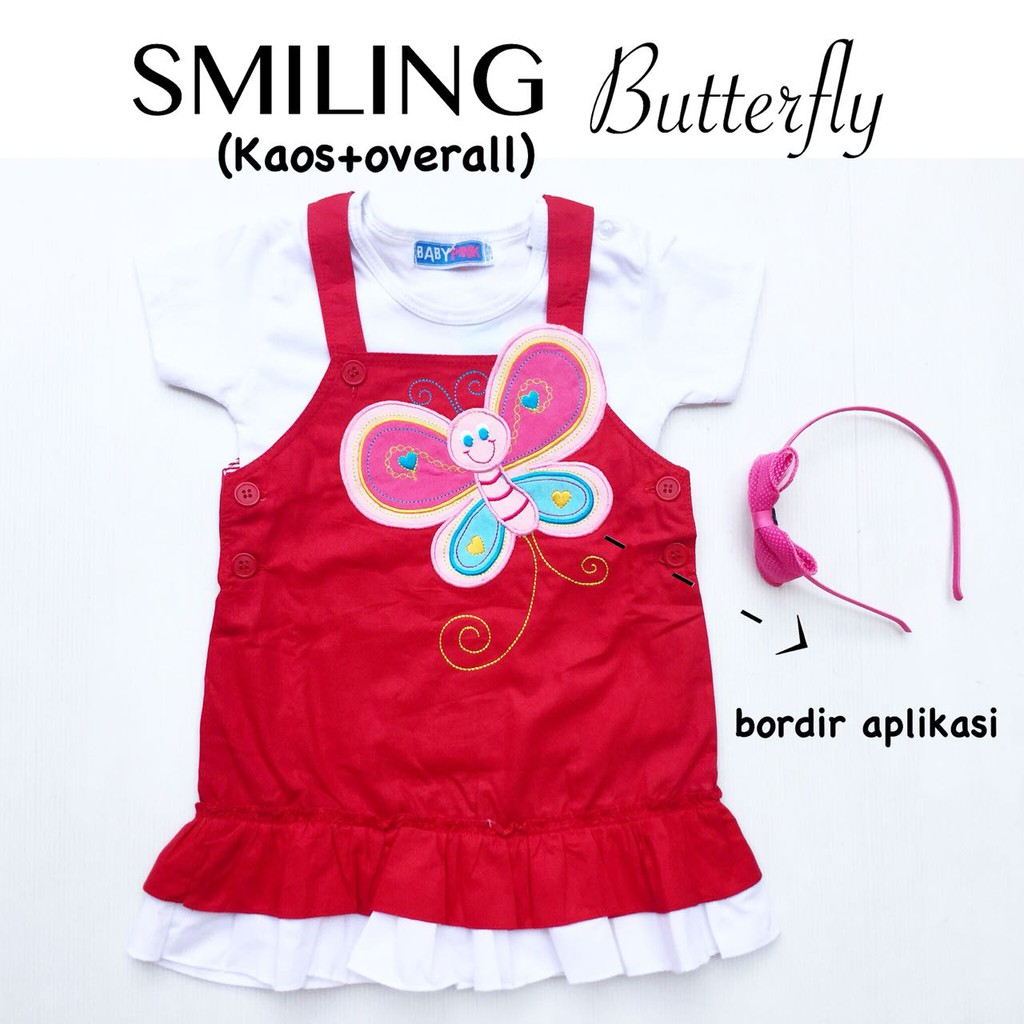 Macbee Baju Anak Dress Beauty Butterfly Shopee Indonesia Kids Setelan Butterflies And Friends