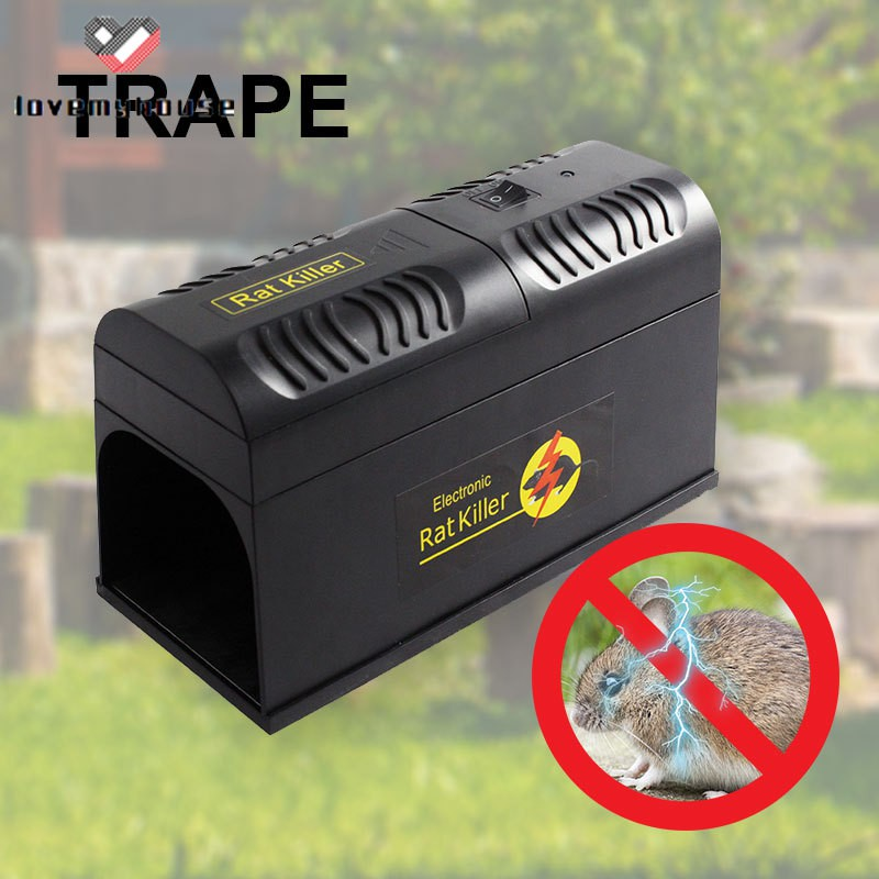 Electronic Mouse Trap Control Rat Killer Safe Pest Mice Electric Rodent Zapper Shopee Indonesia