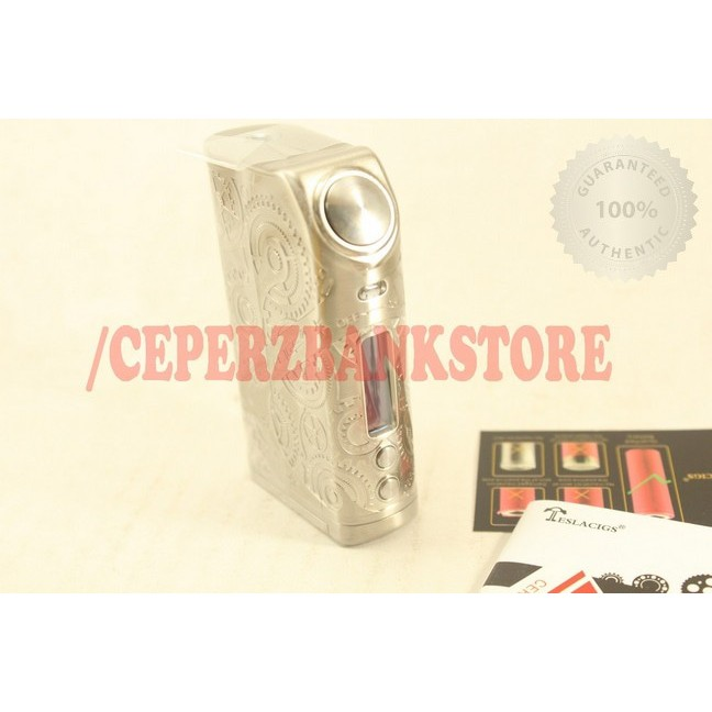 Best Seller Authentic Tesla Nano 120w Steampunk Mod By Teslacigs 120 W Shopee Indonesia