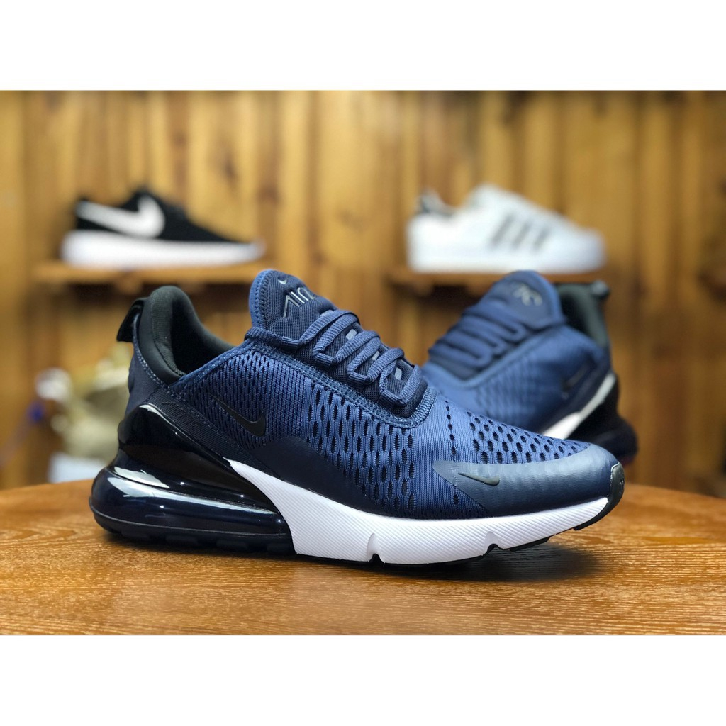 dengan 39 Ukuran Nike Max Biru Desain Sepatu 45 Air 270 Lari Navy Warna dxrBCeo