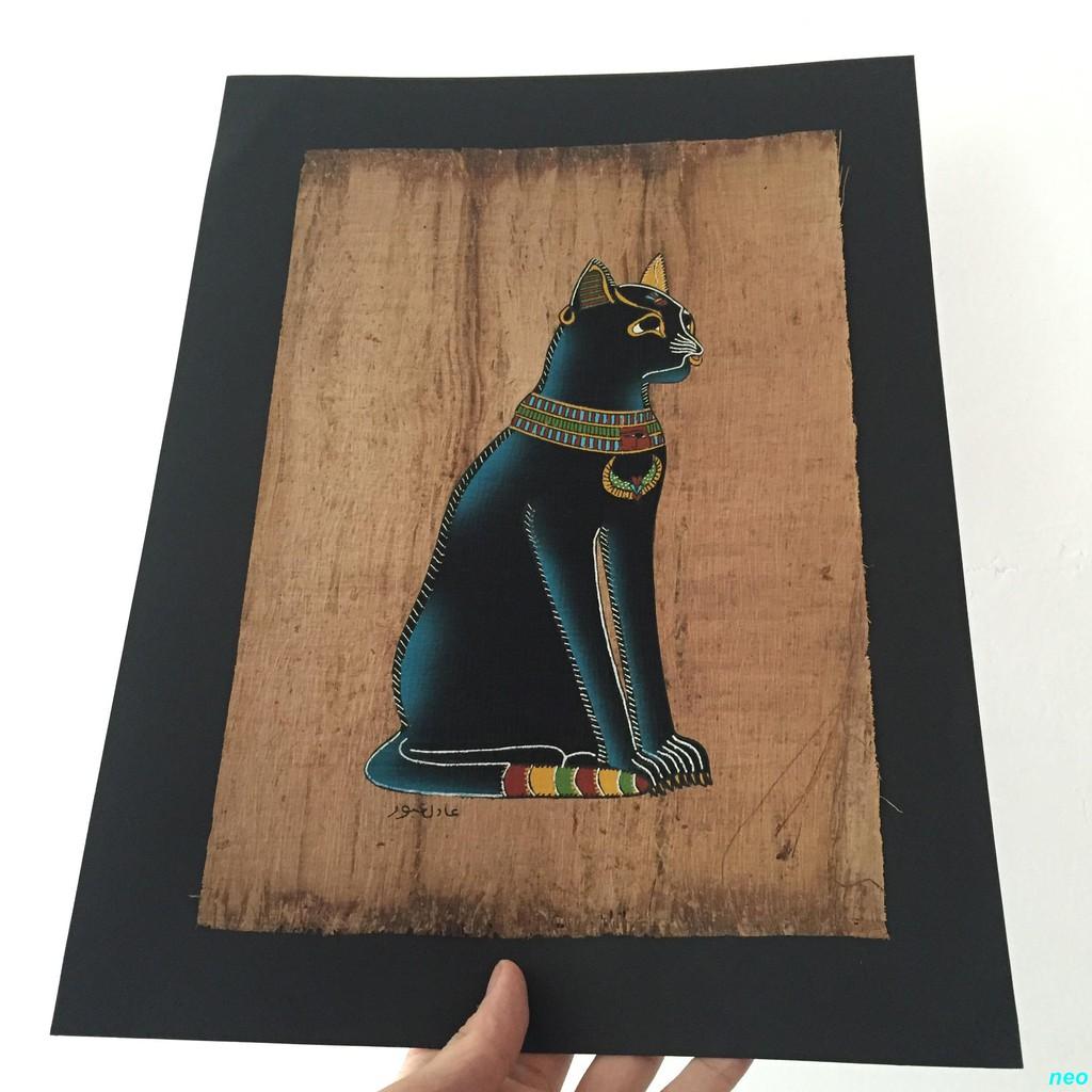 Lukisan Kertas Gambar Kucing Mesir Untuk Studio Foto Shopee Indonesia
