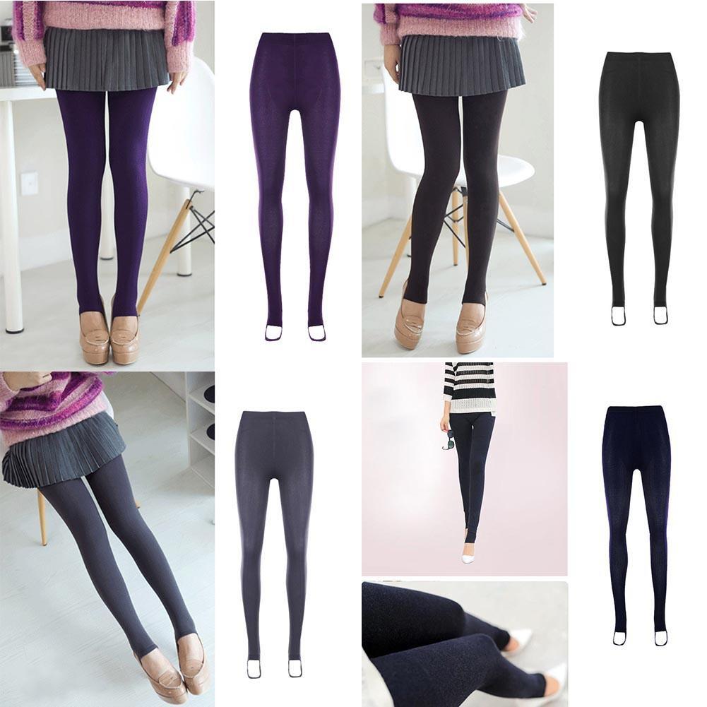 Celana Legging Panjang Wanita Model Slim Elastis Tebal Hangat Untuk Musim Dingin Shopee Indonesia