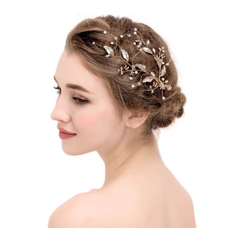 Hot Pearl Bridal Hair Accessories Bridal Hair Combs Tiara Wedding Hair Accessories Hair Jewelry Shopee Indonesia