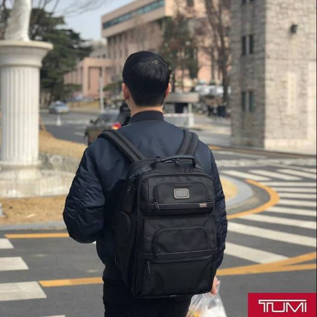 TAS TUMI T-PASS BACKPACK PRIA IMPORT MIRROR QUALITY