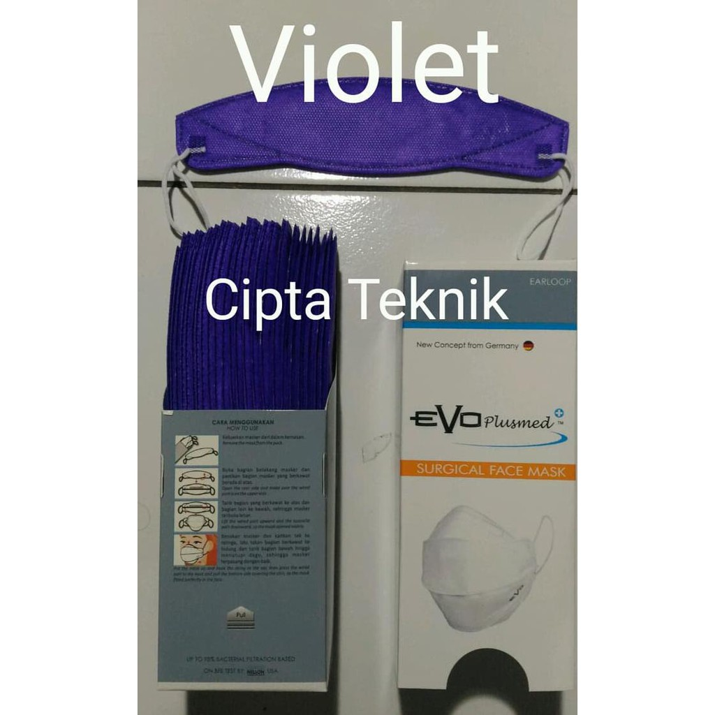 Terlaris Hd Masker Sensi 3ply Earloop Gojek Dokter Karet Telinga Surgical Face Mask Isi 50 3 Ply Kesehatan Debu On Sale Shopee Indonesia