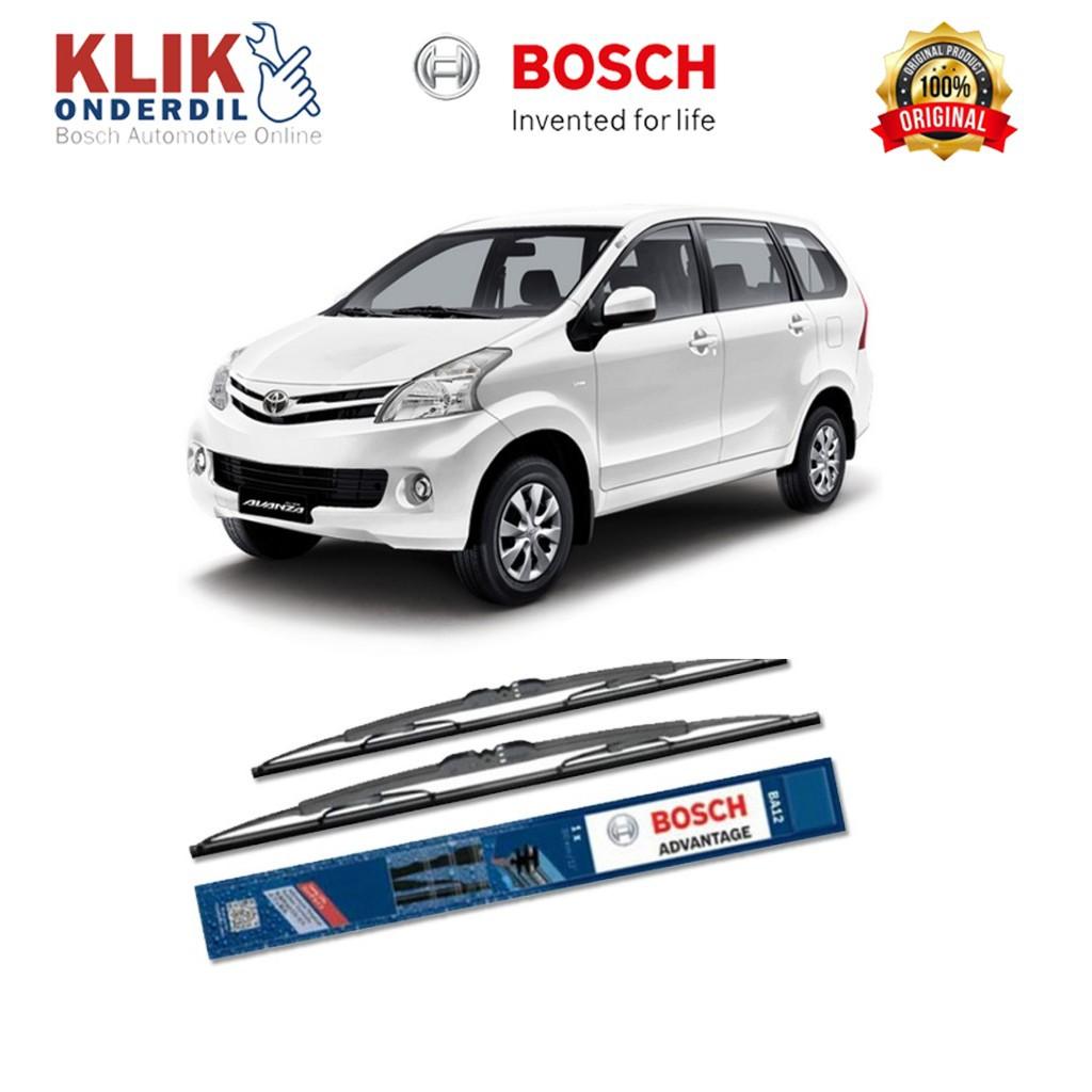 "Bosch Wiper Kaca Mobil Toyota Avanza Advantage 16"" & 20"" (2 pcs) | Shopee Indonesia"