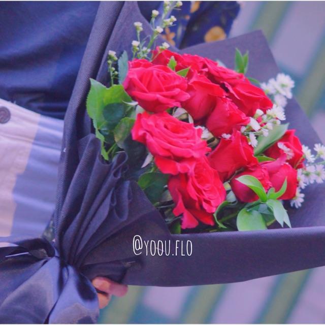 Buket Bunga Mawar Merah Besar Shopee Indonesia