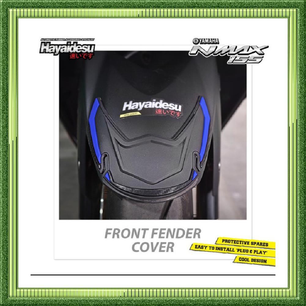 jual body protektor Nmax old Front fender spakbor - Hitam