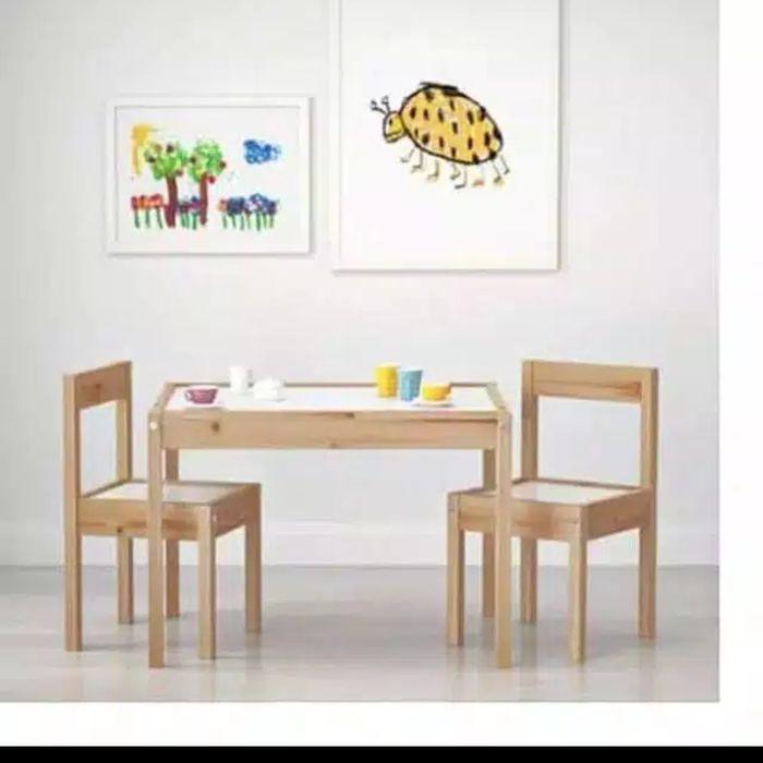 Latt Set Ikea Meja Belajar Anak Ikea Murah Shopee Indonesia