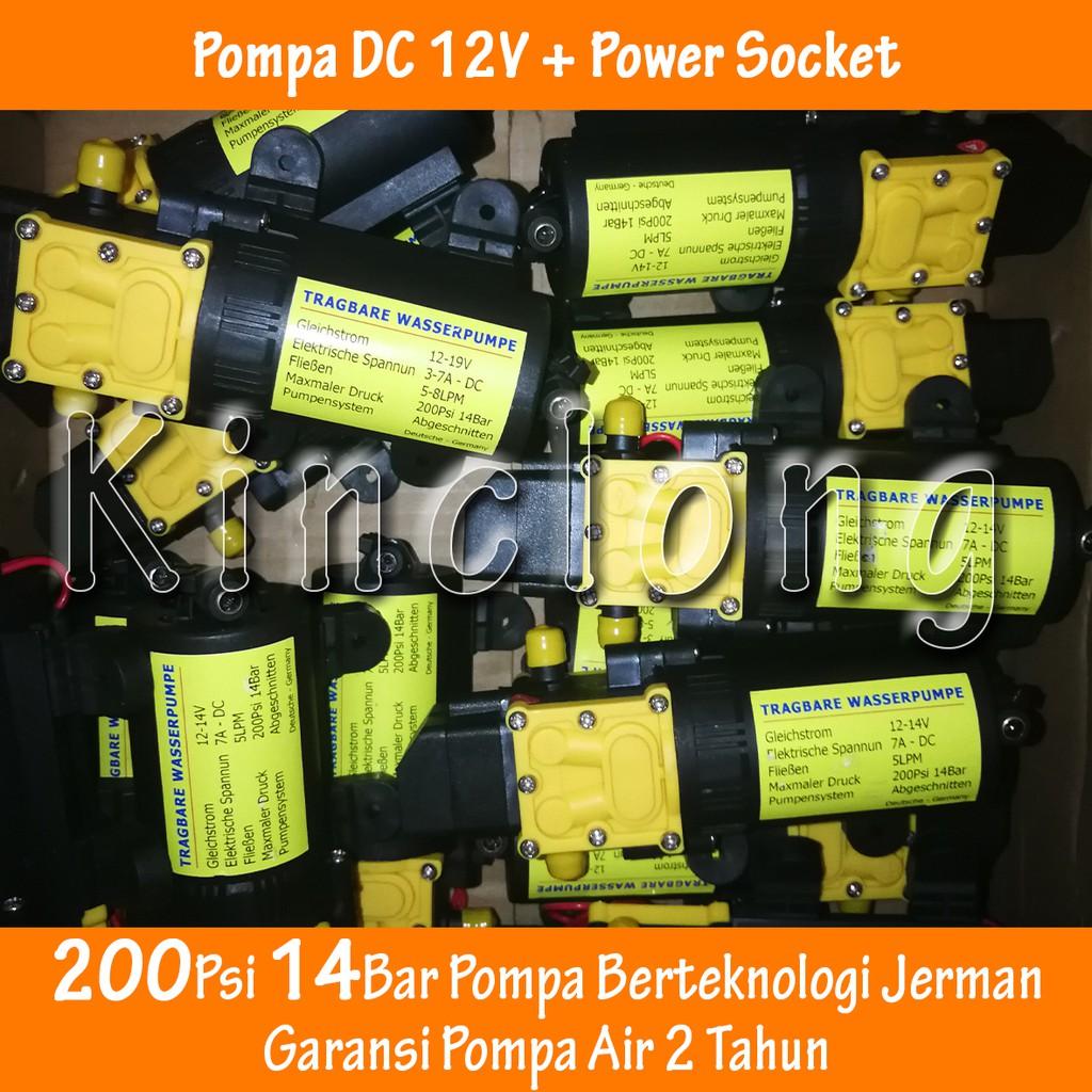 Qr30b Pompa Air Cpu Brushless Anti Ip68 Dc 5v 23w 220l H Watercooling Water Cooling Pump Pc Usb Shopee Indonesia