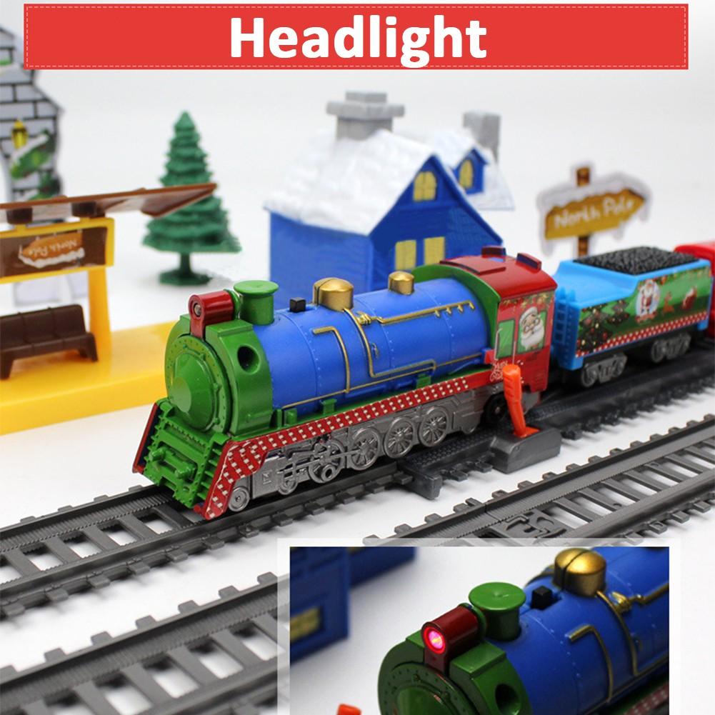 Set Kereta Api Rel Rel Klasik Untuk Hadiah Natal
