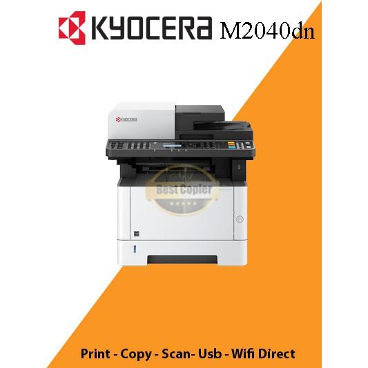 ee4b71ef111 Mesin printer kyocera M 2040 DN fotocopy