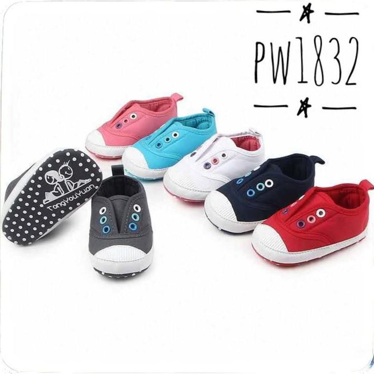 Prewalker Shoes Freddie The Frog sangria Moccs   Sepatu Pre walker anak  bayi sepatu bayi cowok cewe  7affd64fda