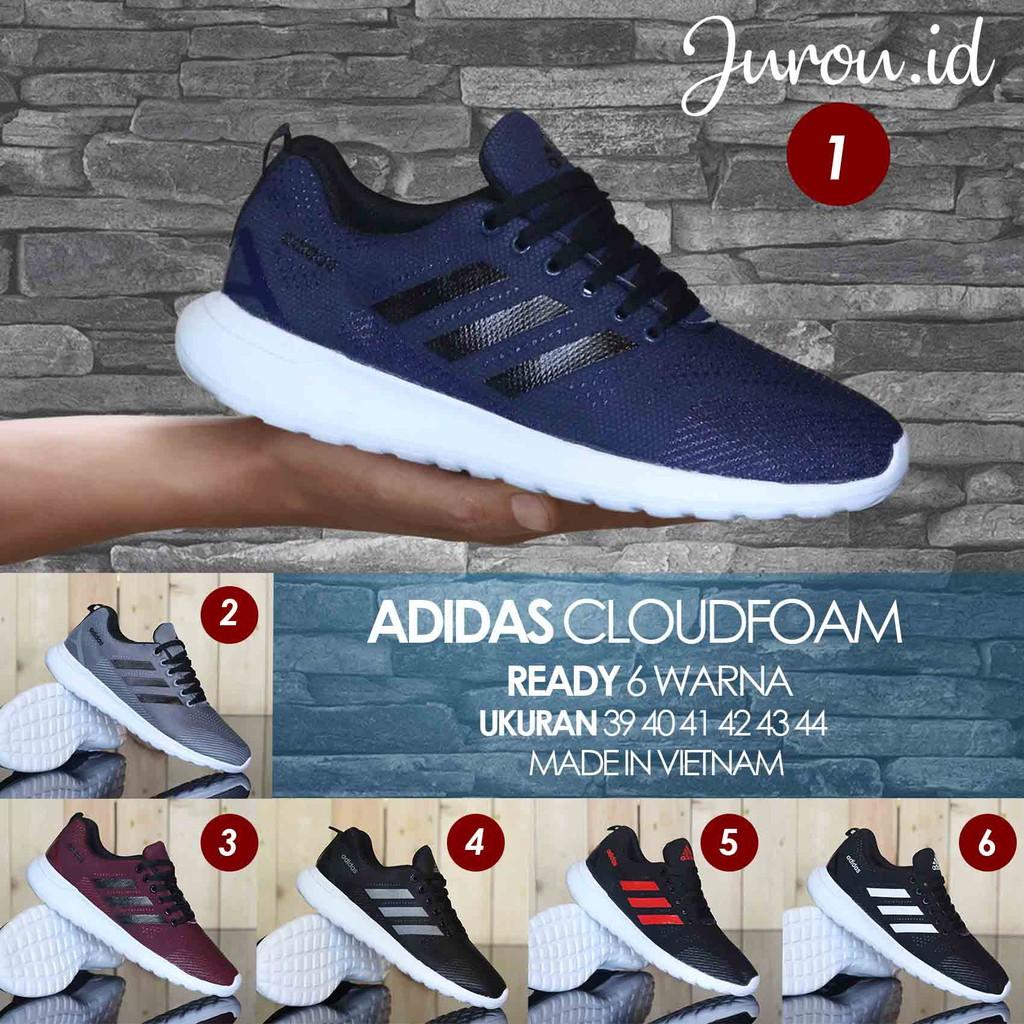 comentarista Reorganizar Adivinar  Sepatu Sneakers Olahraga Pria - Adidas Cloudfoam men - | Shopee Indonesia