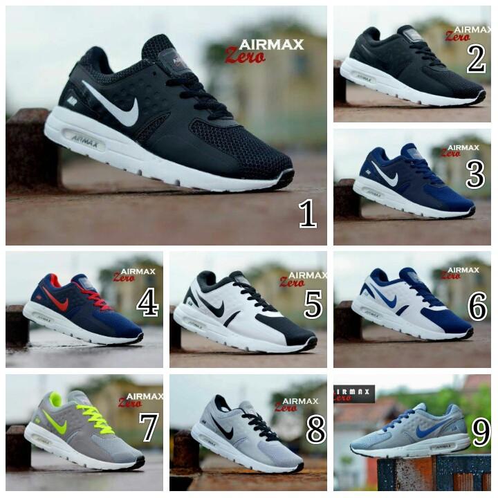 fde20117190c2d Sepatu Murah Sneakers Nike AirMax Zero pria running olahraga pria wanita  Termurah TERLARIS