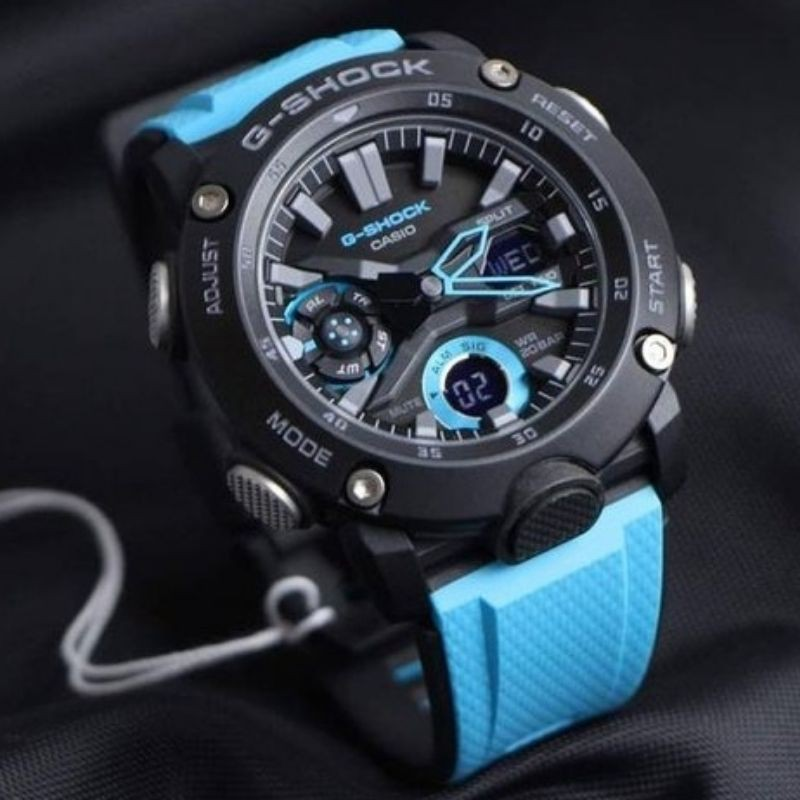 Jam Tangan CASIO ORIGINAL G-SHOCK Black Blue