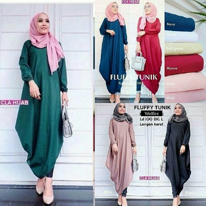 60199 tunic ribbon   baju tunik wanita   atasan muslim  1d5dd3a097