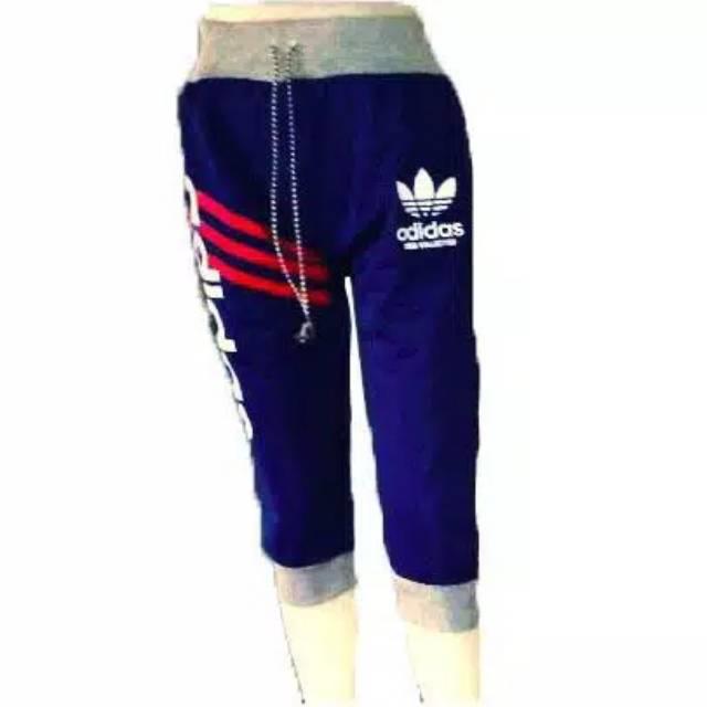 Celana Jogger Adidas 3/4 Pendek   Shopee Indonesia