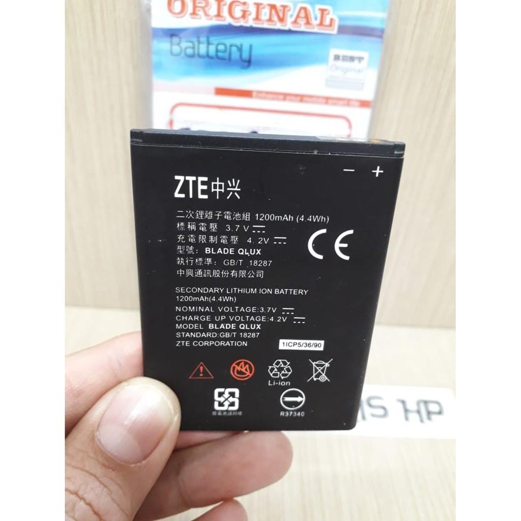 Baterai Batre Modem BOLT Powerphone E1 ZTE Blade Q Lux 2200mAh Original