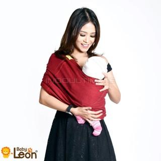 Bayi Premium Gendongan Kaos Baby Leon Cotton/Geos/Selendang Katun/