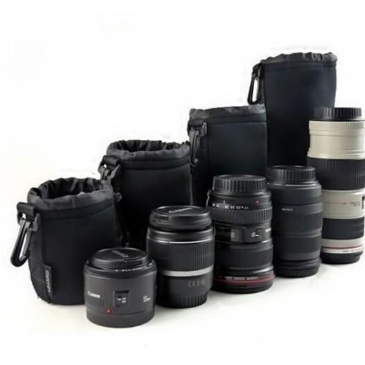 Tas Lensa Kamera DSLR isi 4 pcs sesuai gambar