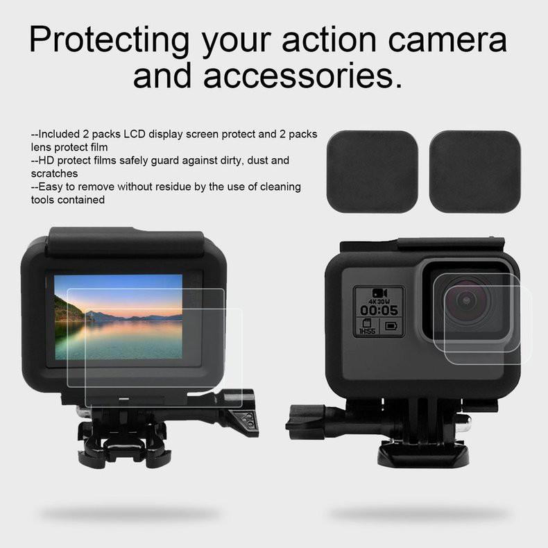 Film Pelindung Lensa & Tutup Lensa Untuk Kamera Action GoPro Hero 6 / 5 | Shopee Indonesia