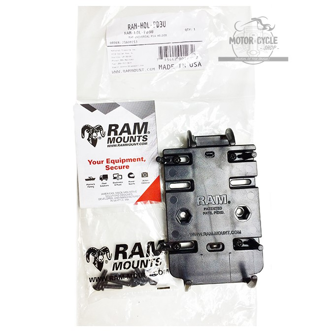 Ram Mounts RAP-B-417BU Level Cup XL with 1 Diameter Ball